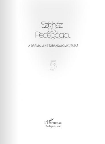 Színház és Pedagógia V.