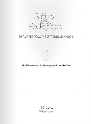 Színház és Pedagógia VI.