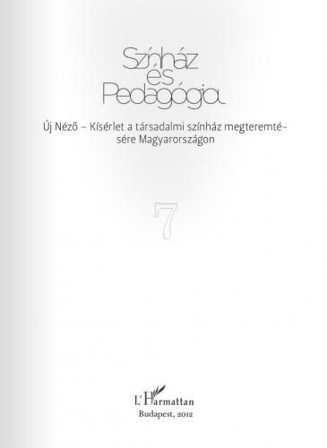 Színház és Pedagógia VII.
